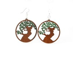 Bonsai Tree Earrings # 1038