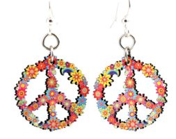Blossom Peace Earrings #166