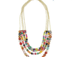 4-Tier Kantha Necklace