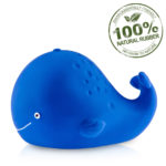 Kala the Whale Bath Toy Hole Free – 100% Pure Natural Rubber