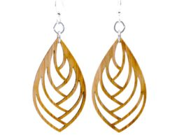 Embraced Bamboo Earrings #985