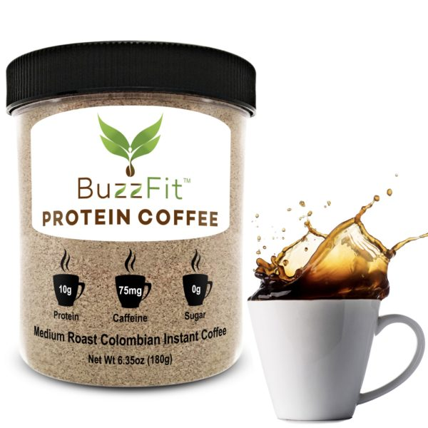 Protein coffee power coffee fit