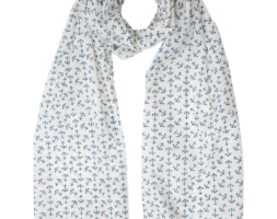 Anchor Blue Scarf