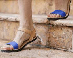 Caribbean Blue Sandals