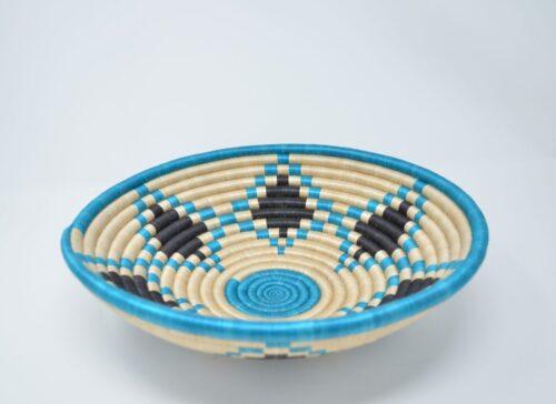 e Turquoise Star Basket - Side Image