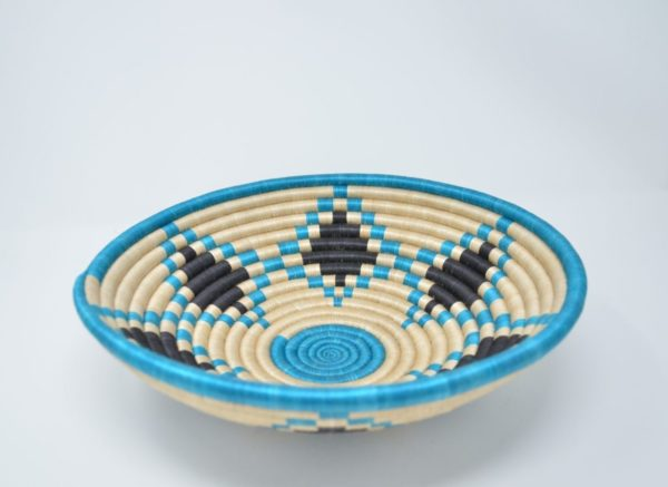 e Turquoise Star Basket - Side Image