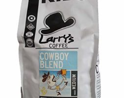 Larry's Coffee Cowboy Blend – Medium Roast, Kilo Bag