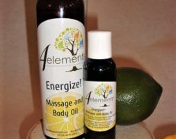 Energize! Massage & Body Oil