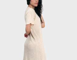 Mika T-Shirt Dress – Heather Almond