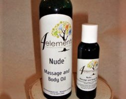 Nude Massage & Body Oil