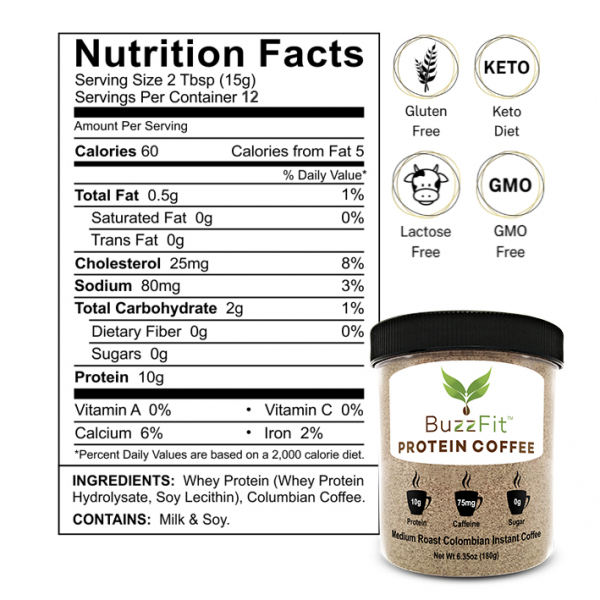 Keto Gluten Free Lactose Free Nutrition Facts