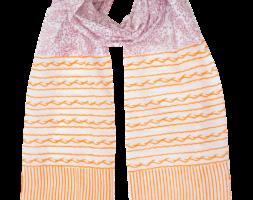 Paisley & Stripe Scarf