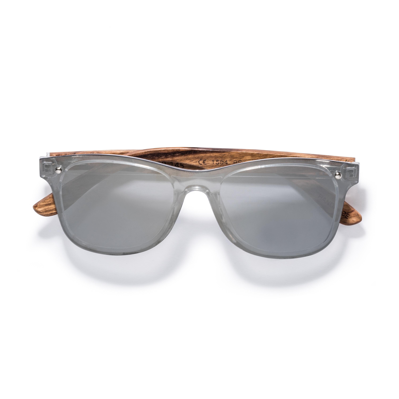 Rover- Zebra Wood Frame Sunglasses by Kraywoods