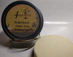 WalkAbout Italian Style Shaving Soap for Men