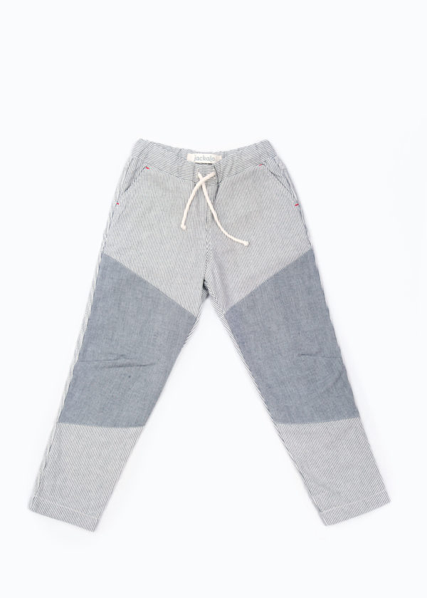 Jackalo lined ash pants organic cotton twill lined with organic jersey