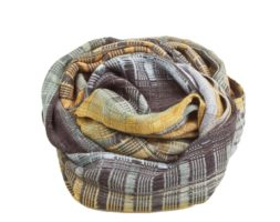Bamboo Calabe Infinity Scarf – Mauve