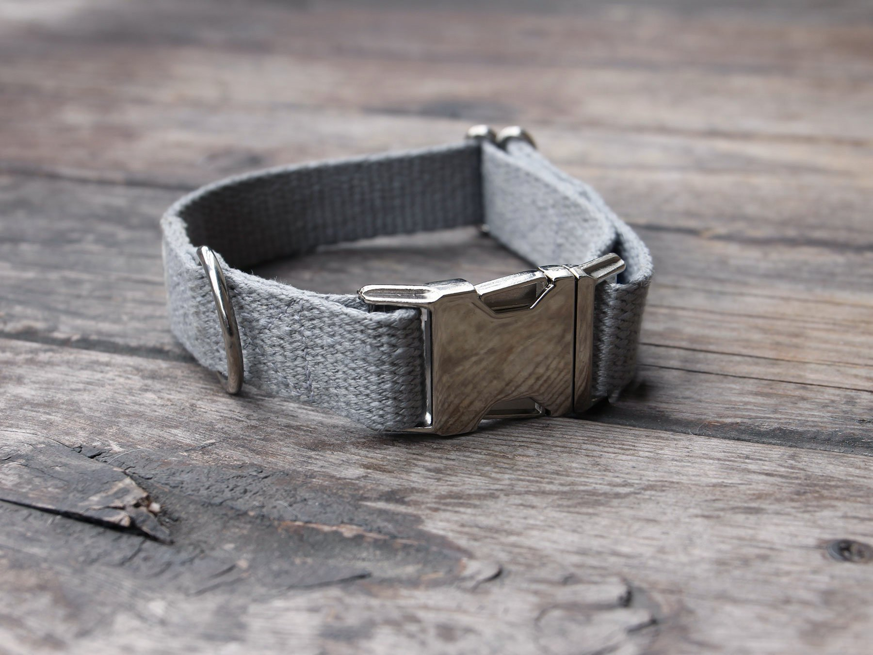 Just Hemp Pebble Beach Dog Collar