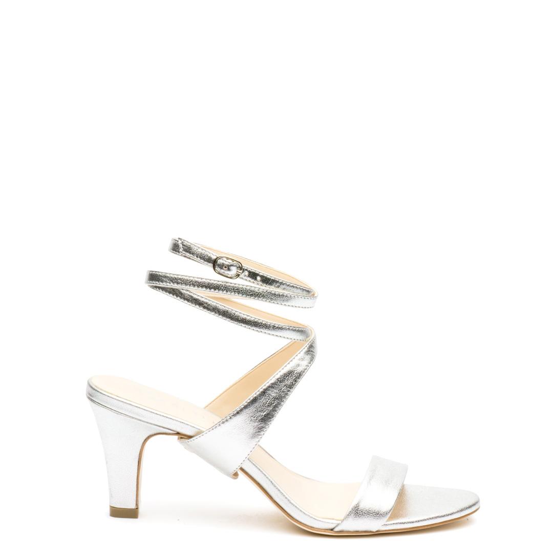Silver Open Toe + Silver Tomoe