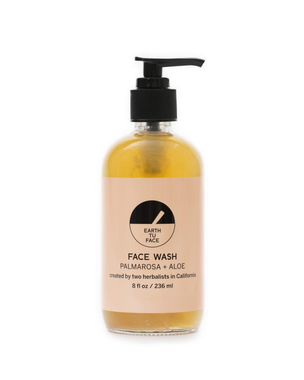 Palmarosa + Aloe Face Wash