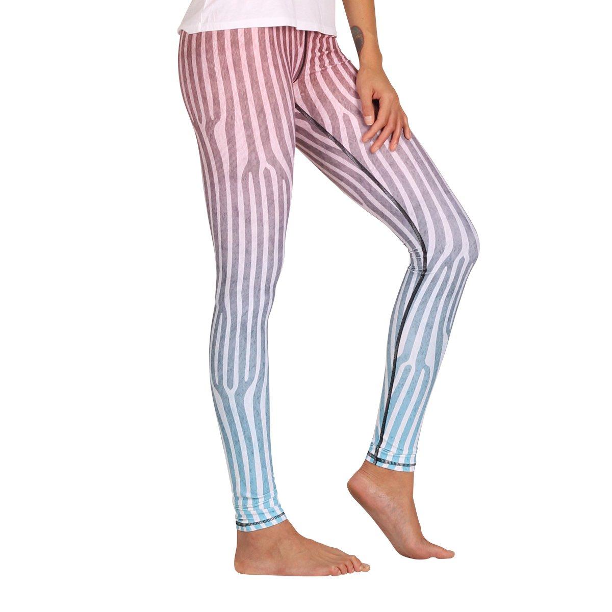 OMbré Printed Yoga Leggings