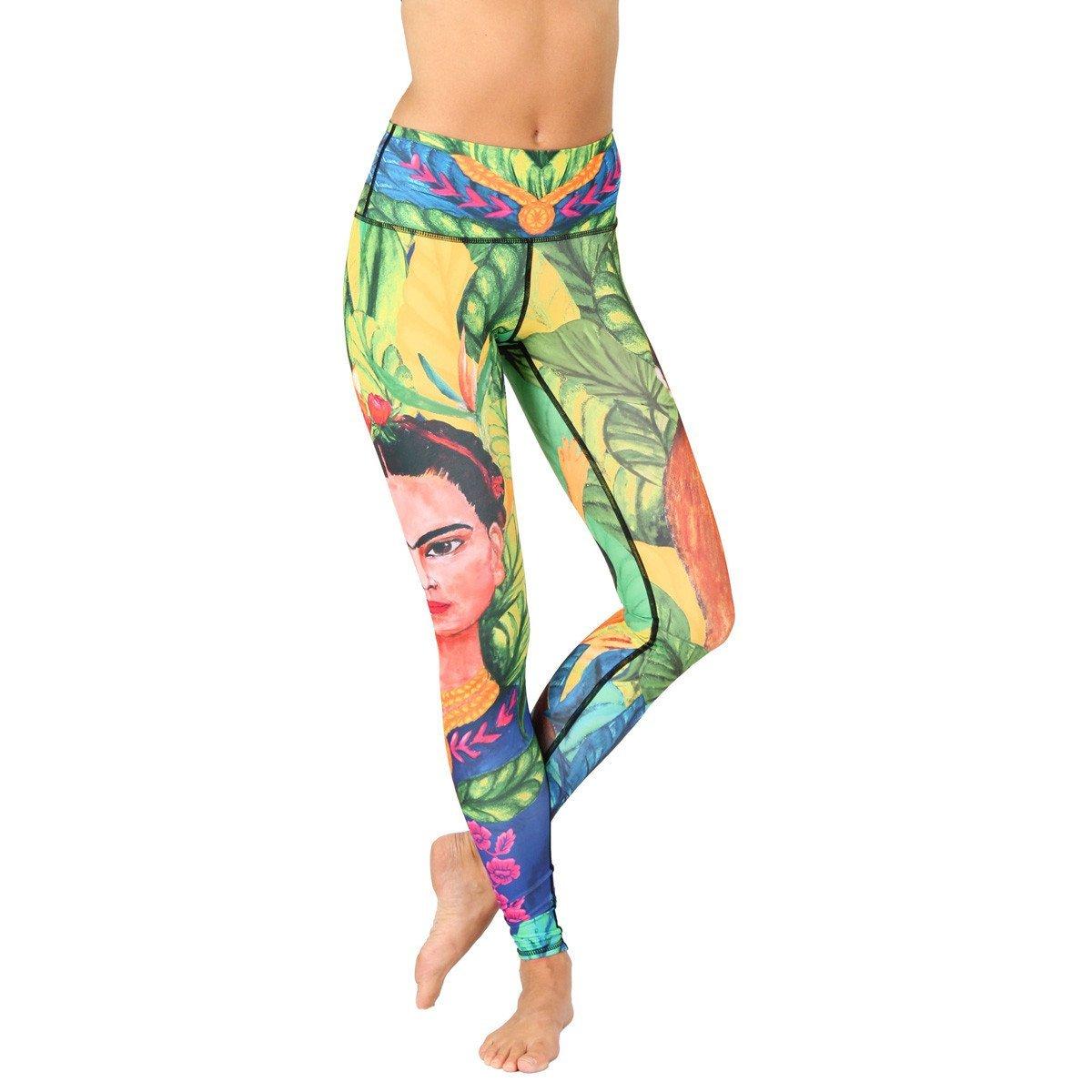 Frida Printed Yoga Leggings