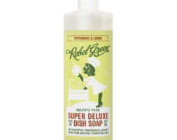 Super Deluxe Dish Soap Peppermint and Lemon