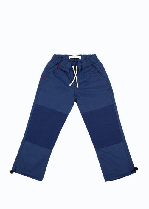 Jackalo Jules in blue organic cotton twill