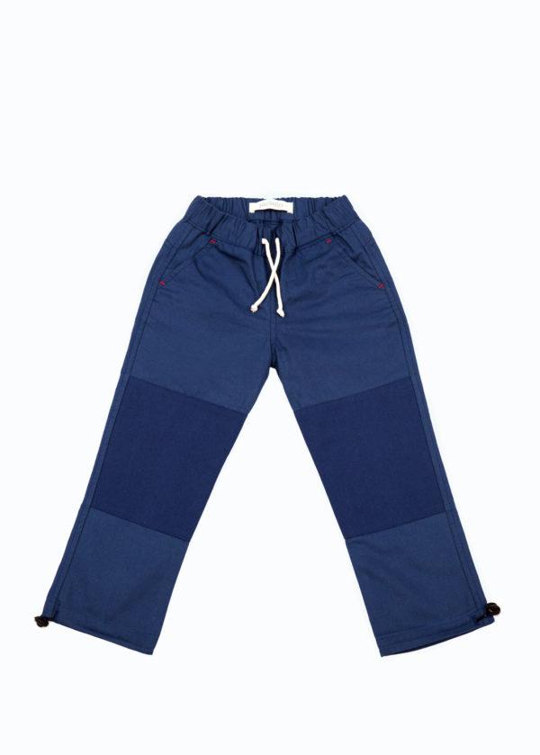 Jackalo Jules in blue organic cotton twill