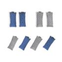 Midnight Blue- 8 pieces