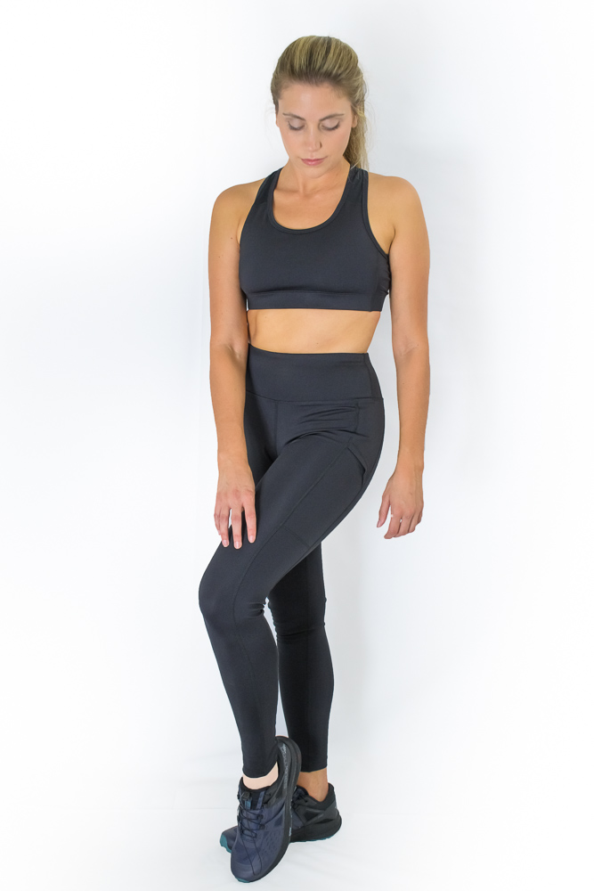 Adventurer Sports Bra-Blackout