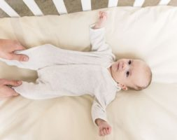 Classic Organic Cotton Crib Sheets- American Made by American Blossom Linens