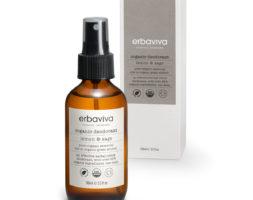 Organic Deodorant- Lemon & Sage  by Erbaviva