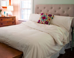 Organic Cotton Duvet Set-American Made by American Blossom Linens