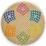 Boutique Rainbow Bariku Woven Bowl