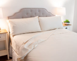 Classic  Organic Cotton Sheets-American Made by American Blossom Linens