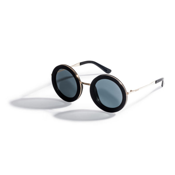 Kraywoods oversized round wood sunglasses polarized