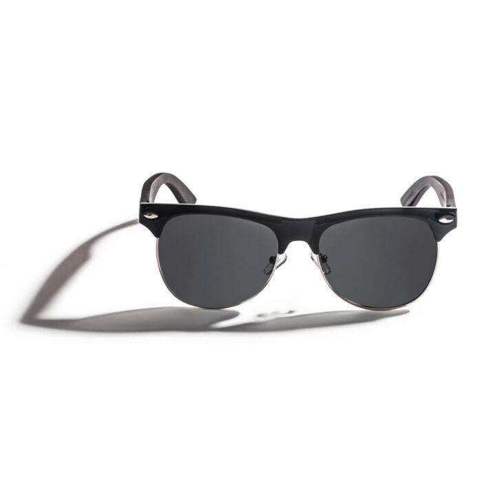 ebony wood men sunglasses polarized 100% uv protection
