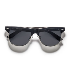 ebony wood men wayfarer sunglasses polarized