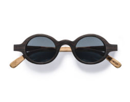 Magnolia- Ebony and Zebra Wood Sunglasses by Kraywoods