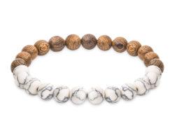 Oak & Marble Bracelet by Kraywoods