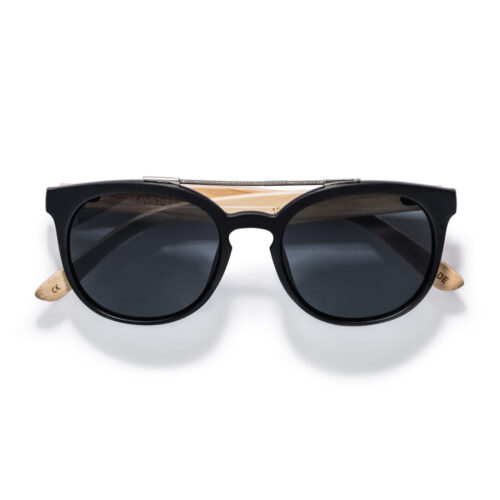 kraywoods double bridge bamboo sunglasses