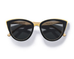 Willow-Cat-Eye Bamboo Wood Sunglasses by Kraywoods