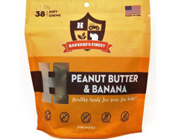 Peanut Butter & Banana Healthy Grain-Free Soft Treats by SodaPup