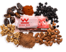 Mexican Chocolate 25mg Hemp Extract Wise Bar