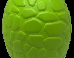 MKB Dinosaur Egg Durable Rubber Chew Toy & Treat Dispenser – Large – Green