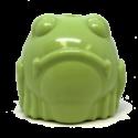 MKB Bull Frog Durable Rubber Chew Toy & Treat Dispenser – Medium – Green