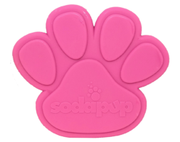 SP Paw Print Ultra Durable Nylon Dog Chew Toy for Aggressive Chewers – Pink