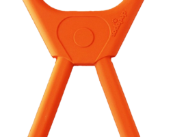 SP Pop Top Rubber Tug Toy for Interactive Play – Orange Squeeze