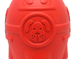 SN Rocketman Durable Rubber Treat Dispenser & Chew Toy