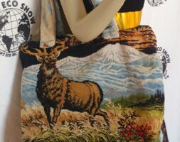 Elk Carpet Bag from Velvet Tapestry Hermans eco